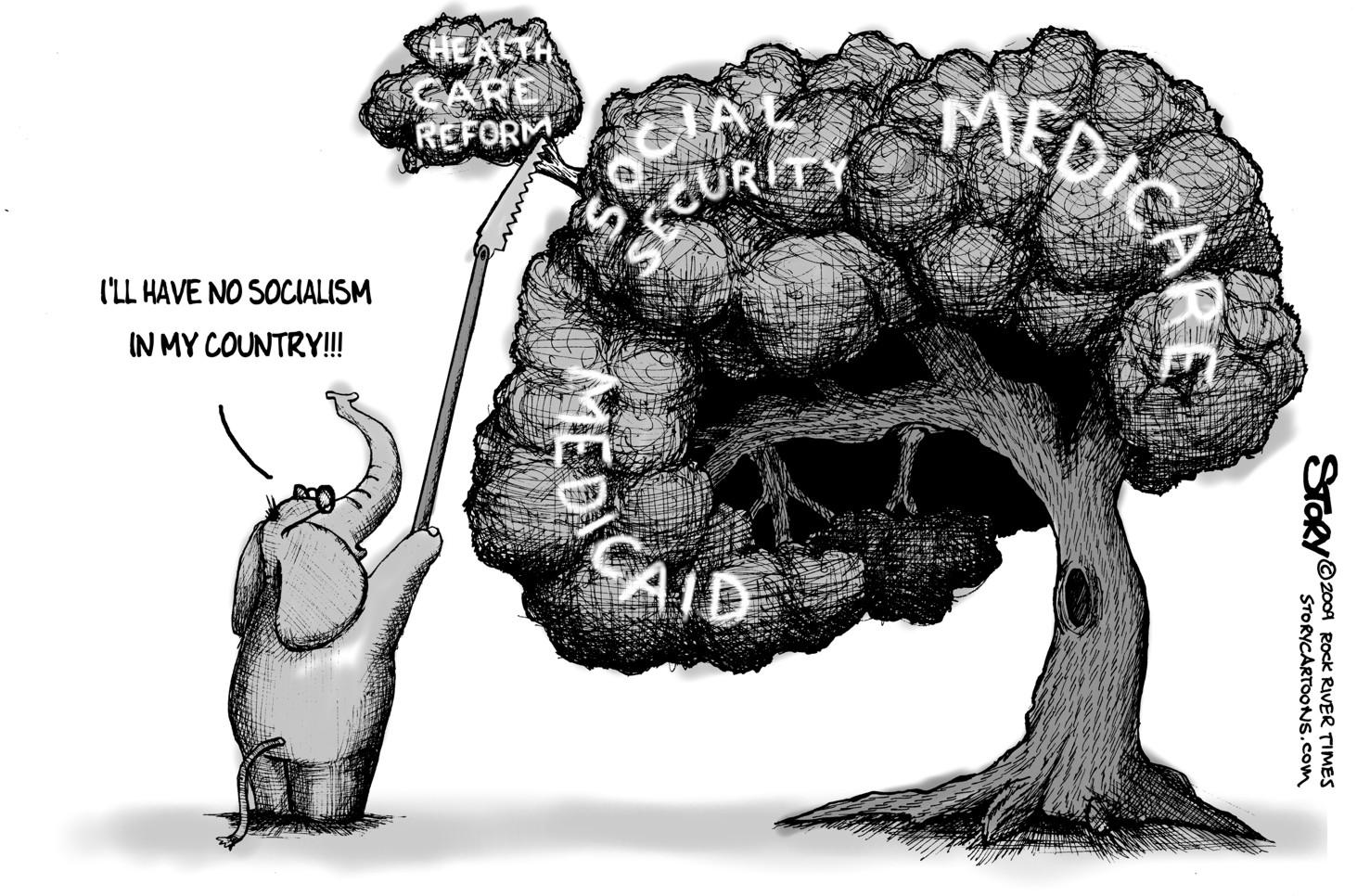 socialism cartoons Gallery